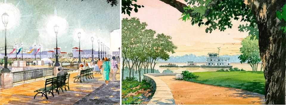 Memphis Riverfront Master Plan Image
