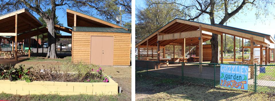 Grizzlies Garden Project Pavilion Image