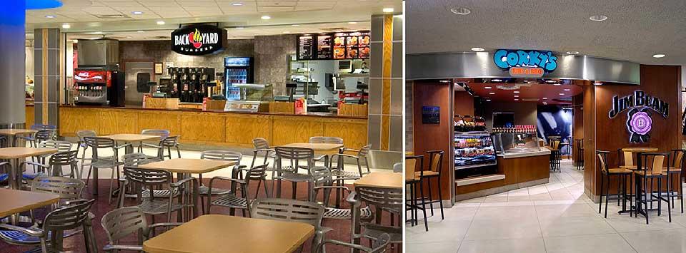 Memphis International Airport Food Court Image