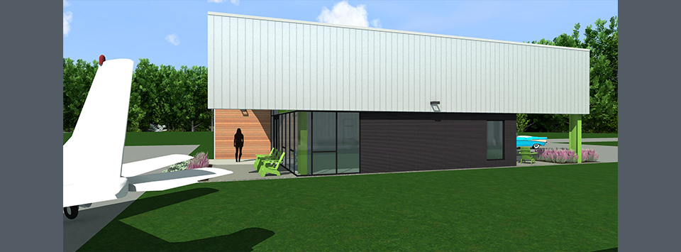 New Albany-Union County Airport Terminal Building Image