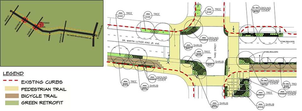 Memphis Heritage Trail Green Streets Retrofit Initiative Image