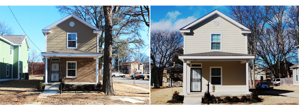 Habitat for Humanity Uptown Memphis Housing Prototypes Image