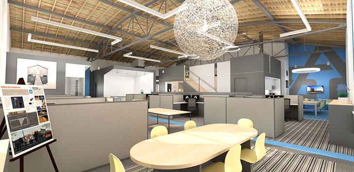 Universal Life Insurance Building Image